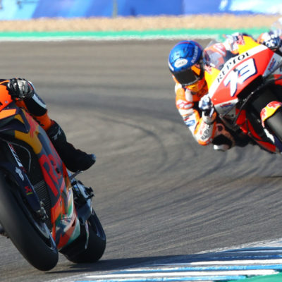 Brad Binder – pace, promise and a prang
