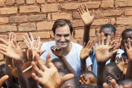 When Roger Federer returned to his East Rand roots