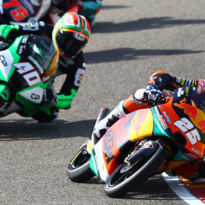 Darryn Binder's second place at Aragon shows growing maturity and calm from the South African